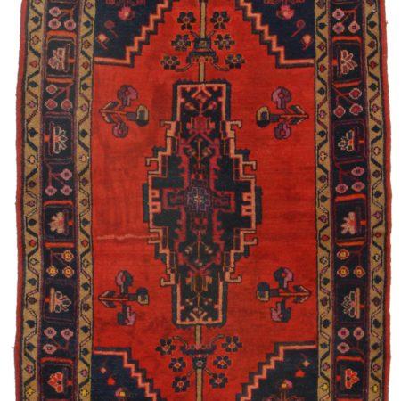4 x 6 Vintage Persian Hamedan Rug 9848