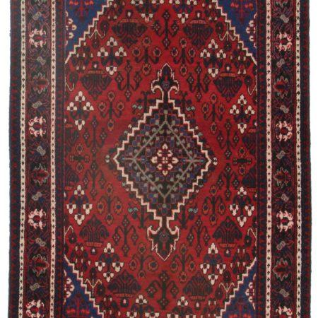 4 x 6 Vintage Persian Hamedan Rug 9884