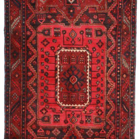 4 x 9 Vintage Persian Hamadan Runner 9852
