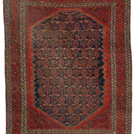 5 x 5 Antique Persian Malayer Rug 11059
