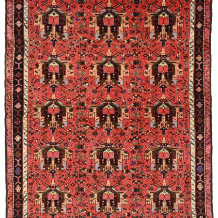 5 x 7 Vintage Persian Karajeh Rug 9794