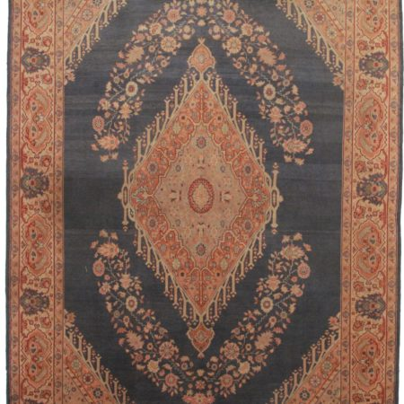 8 x 11 Antique Turkish Oushak Rug 2797