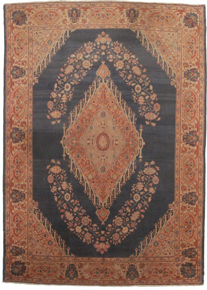 8 x 11 Antique Turkish Oushak Rug 2797