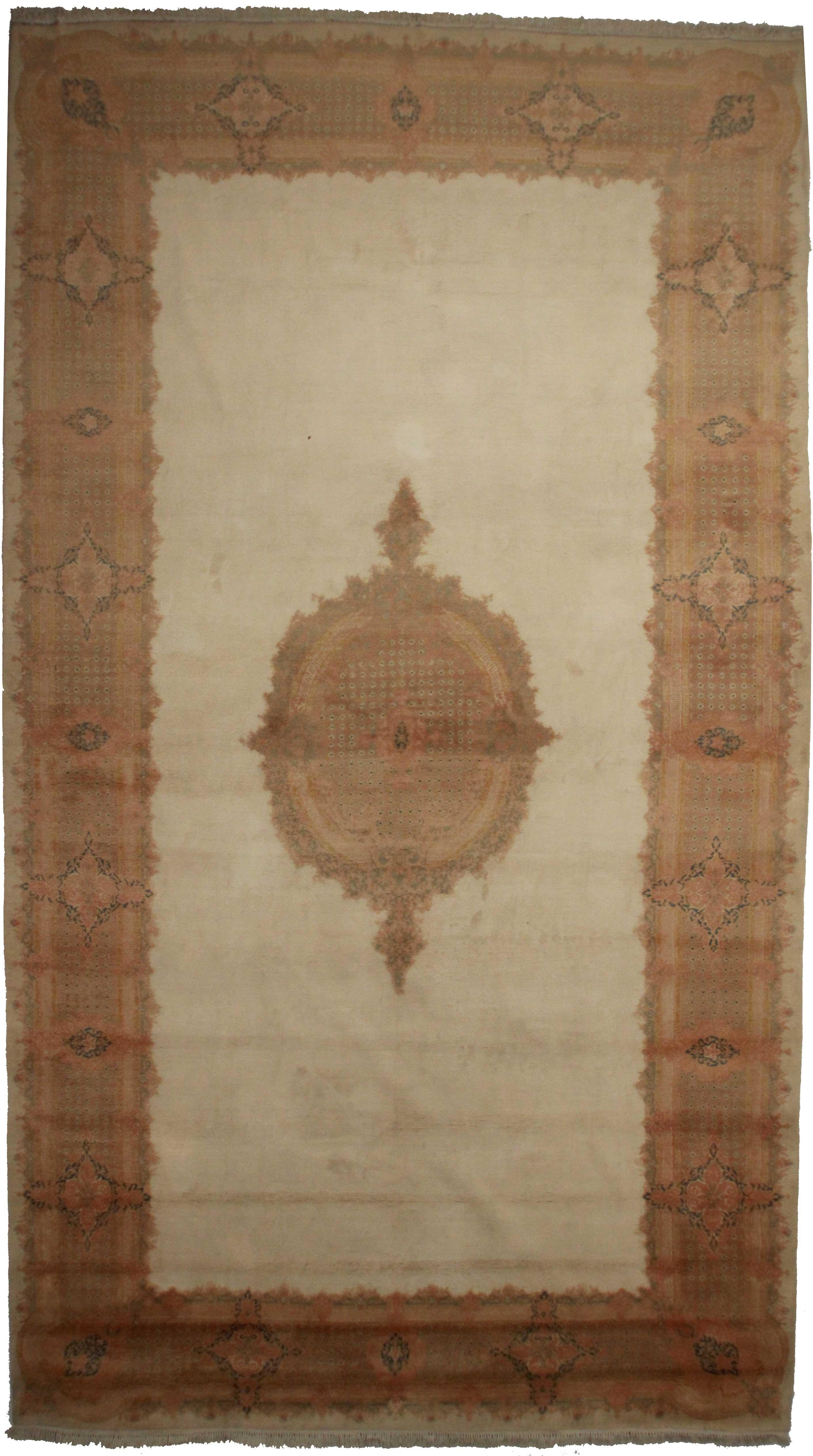 10 X 18 Vintage Persian Kerman Rug 14211