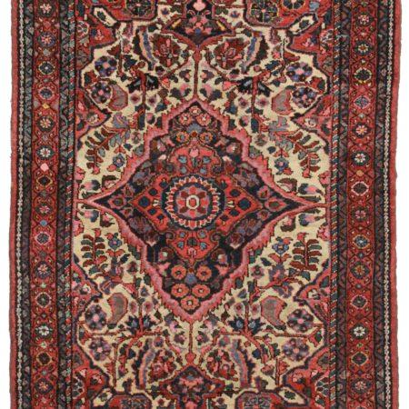 3 x 5 Vintage Persian Karajeh Rug 14203