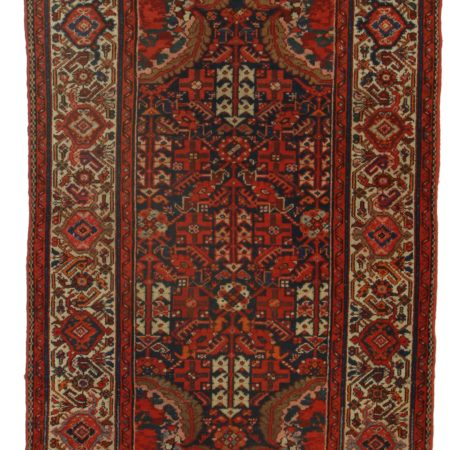4 x 6 Antique Persian Malayer Rug 10345