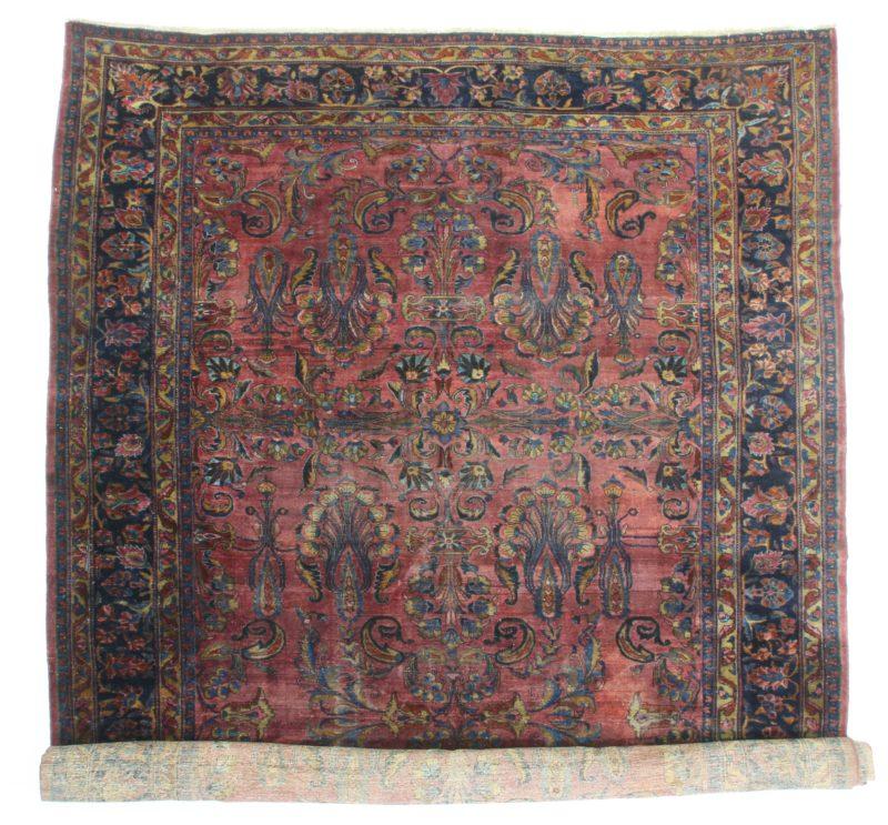 Antique Persian Lilihan 12 x 20 Rug 1297