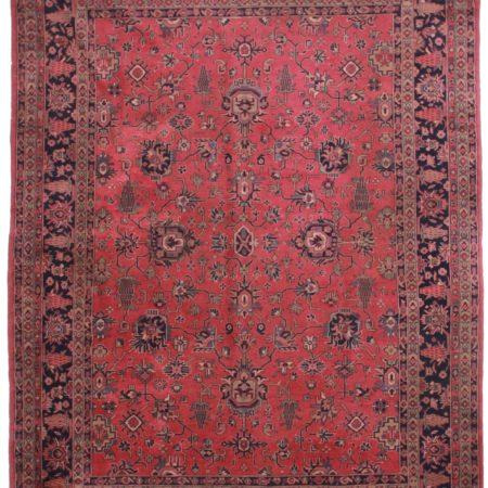 10 x 13 Antique Turkish Wool Rug 13710