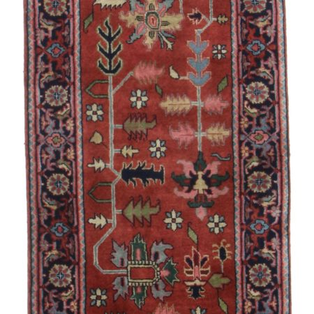 "2' 7"" x 12 1"" Vintage Persian Style Runner 9995"