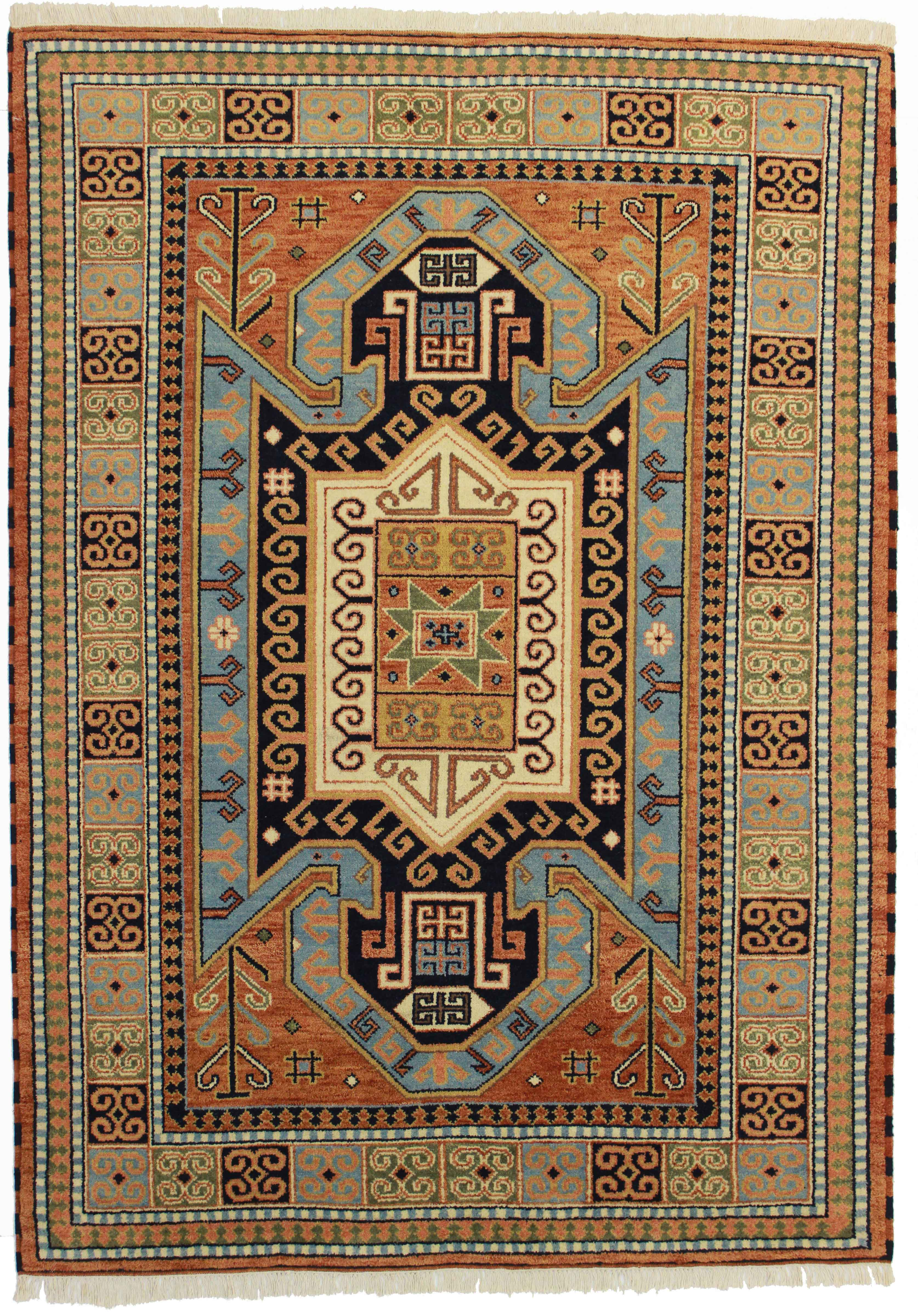 6 X 8 Vintage Transitional Wool Rug 13174 Exclusive Oriental Rugs