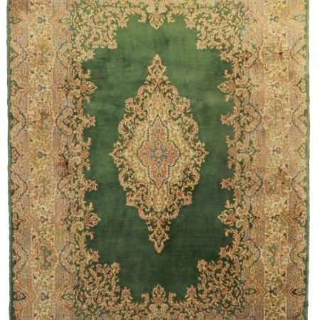 6 x 8 Vintage Wool Persian Kerman Rug 10500