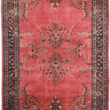 6 x 9 Antique Turkish Wool Rug 8810