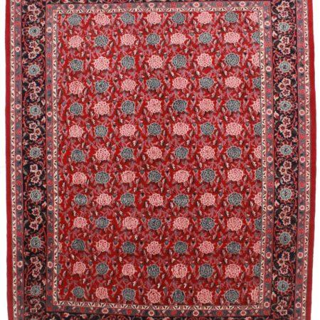 9 x 11 Vintage Wool Persian Style Rug 3956