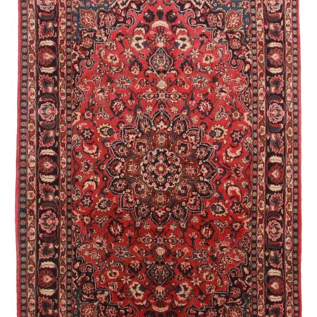 6 x 10 Antique Persian Mashad Rug 12111