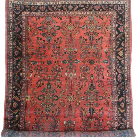 Antique Persian Mahal 10 x 17 Rug 1750