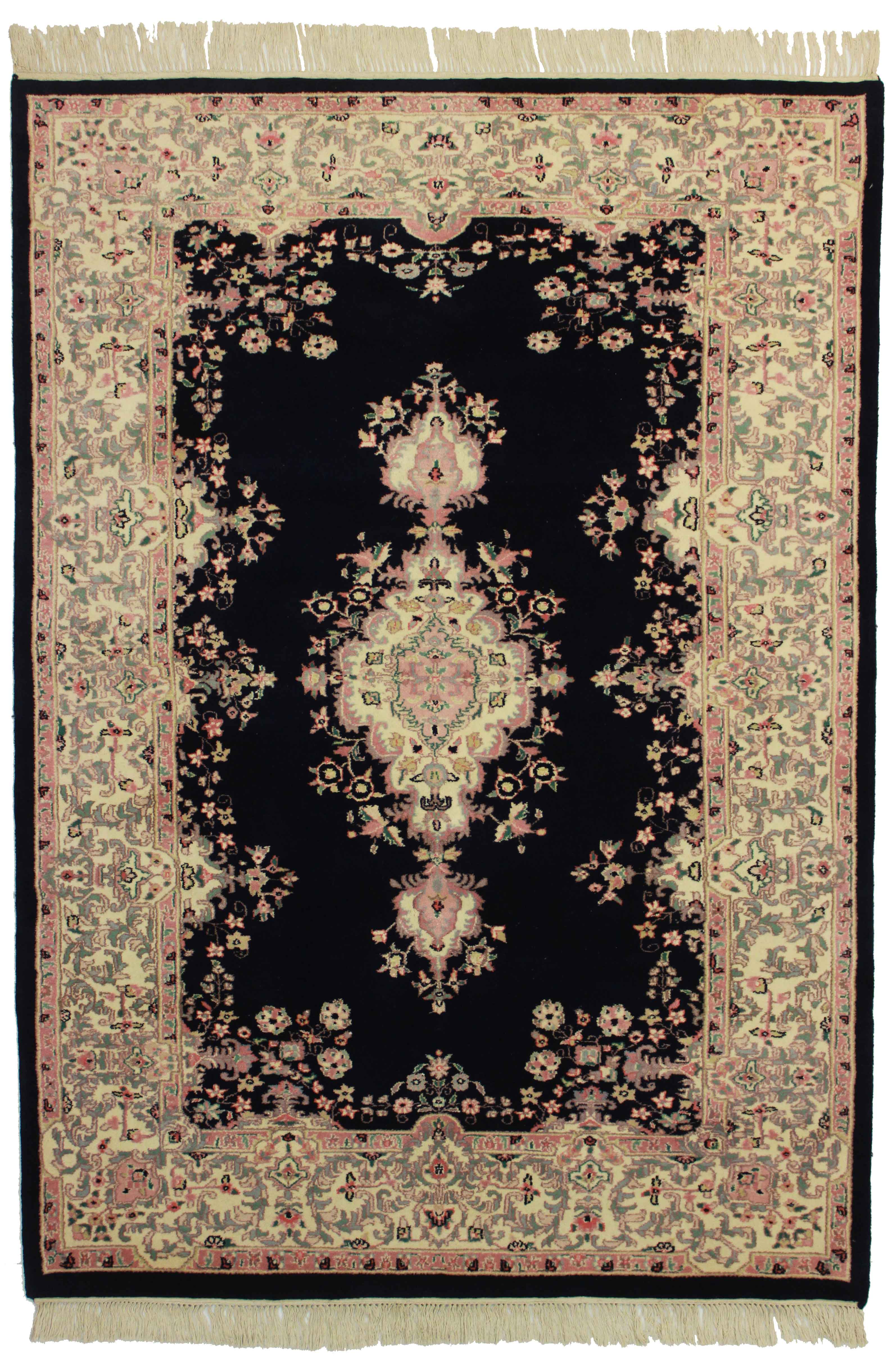 6 X 8 Indian Hand Knotted Wool Rug 8768 Exclusive Oriental Rugs
