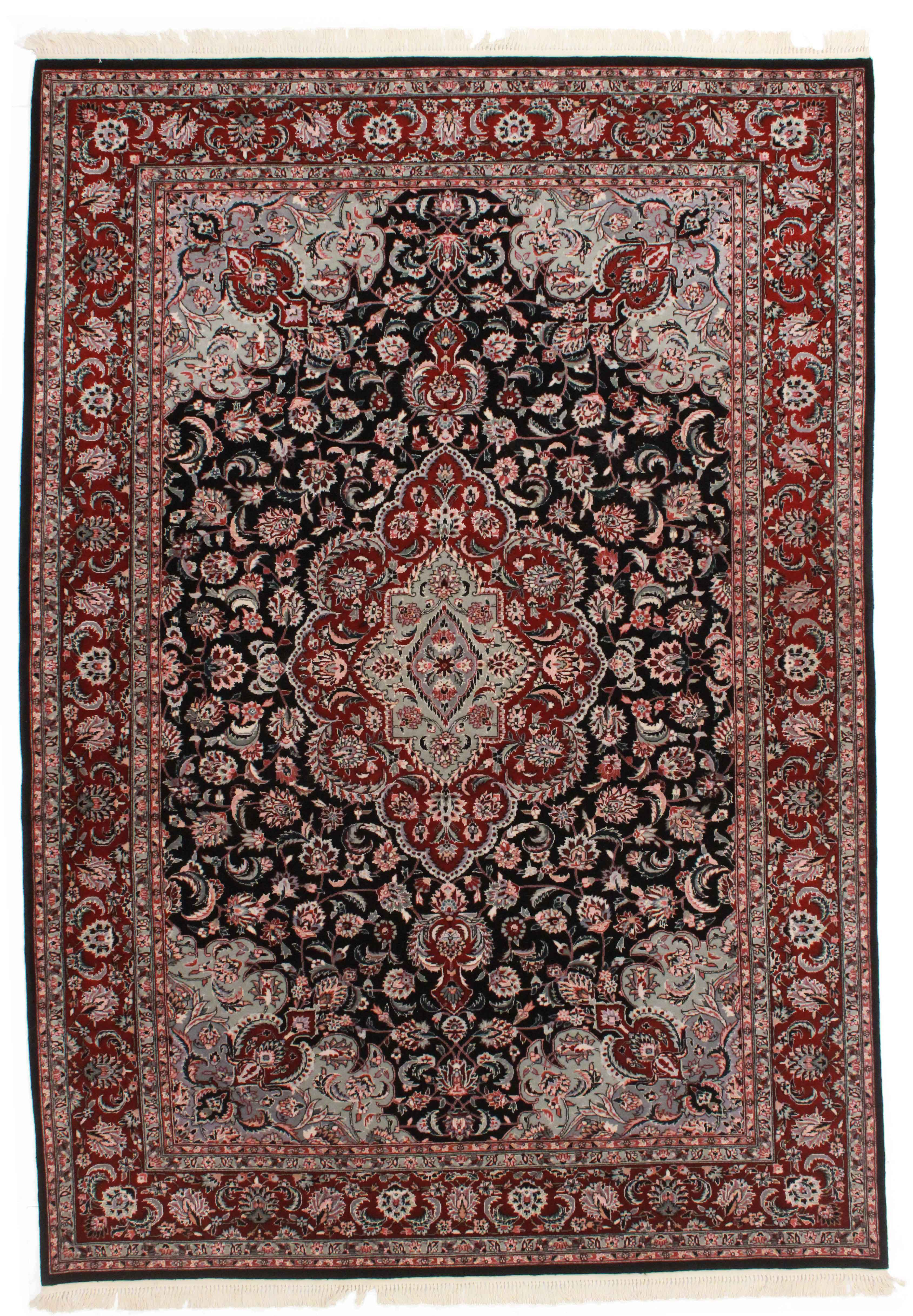 6 4 X 9 2 Hand Knotted Wool Chinese Rug 14231 Exclusive Oriental