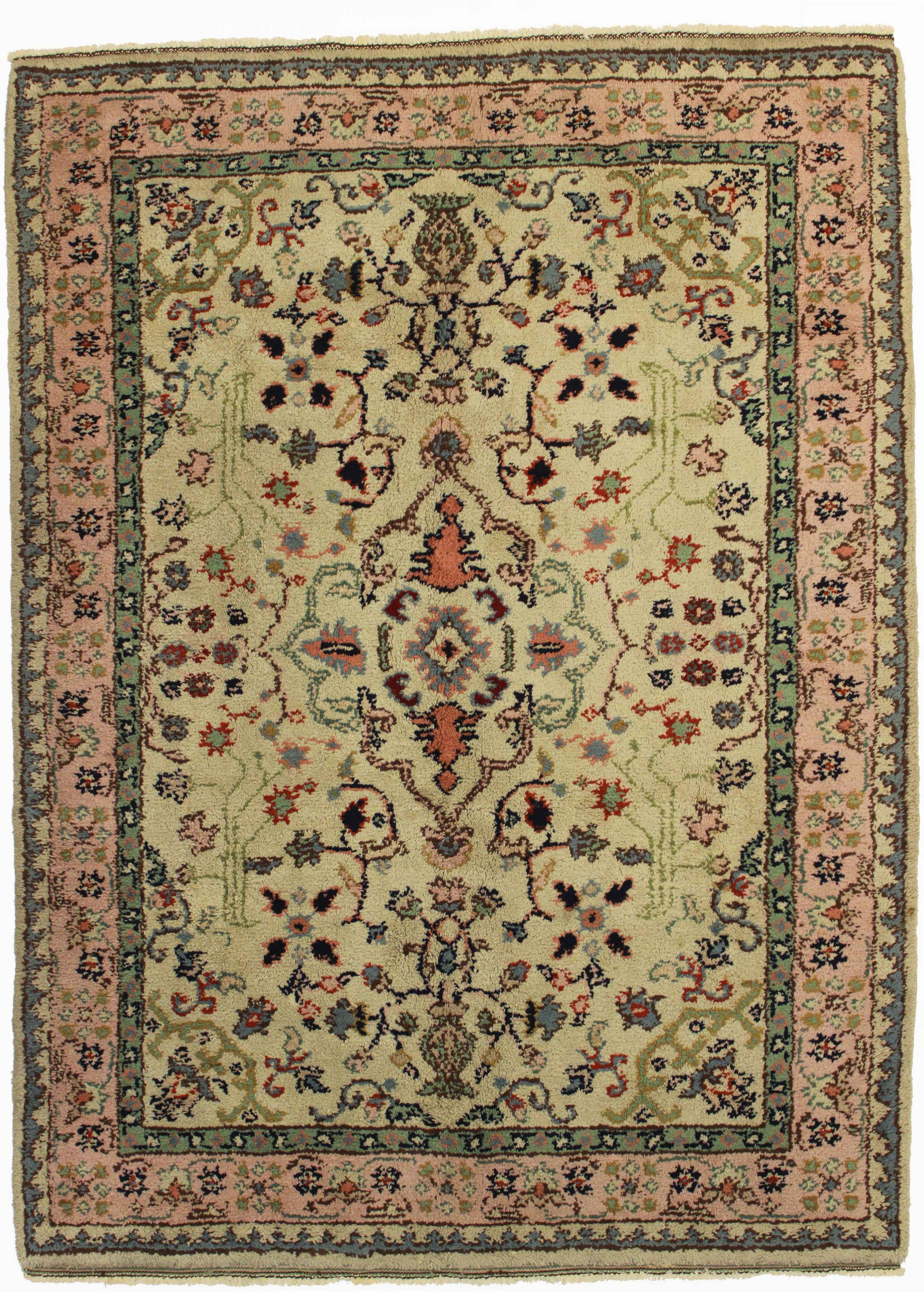 Turkish Oushak Wool Rug 10824