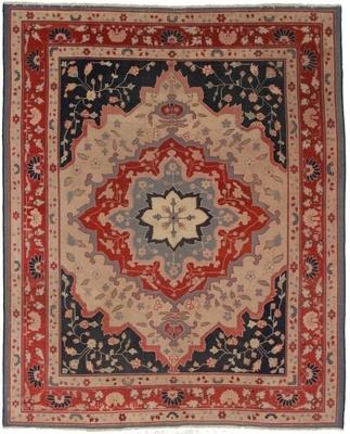 Antique Turkish 8x10 Wool Oriental Rug Exclusive